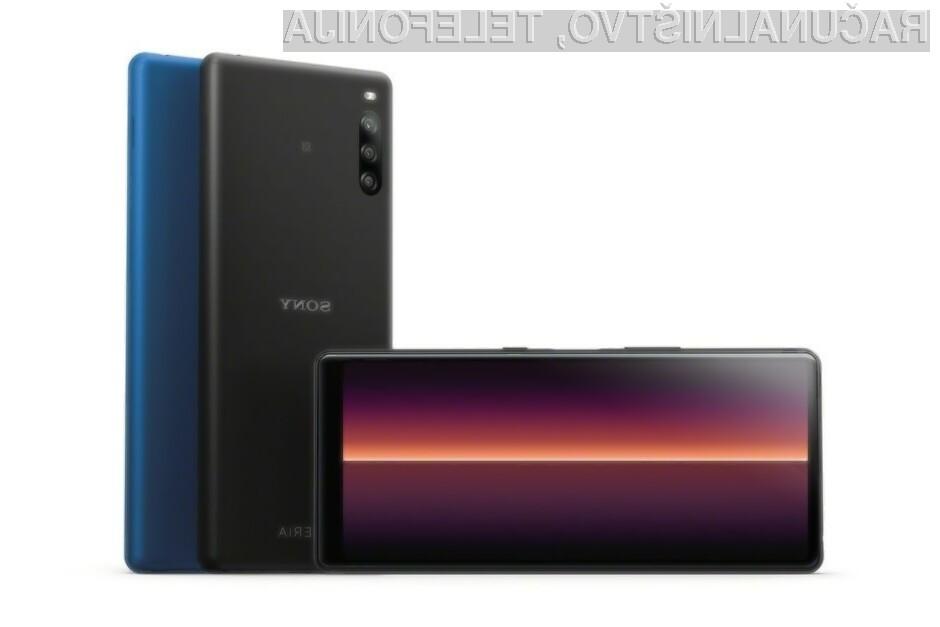 Pametni mobilni telefon Sony Xperia L4 za malo denarja ponuja veliko.