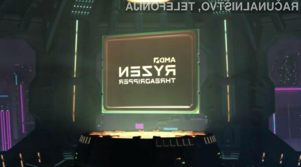 Superprocesor AMD Ryzen Threadripper 3990X preračunava podatke kot za stavo!