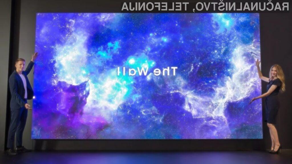 Televizorji Samsung družine Wall TV enostavno nimajo konkurence!