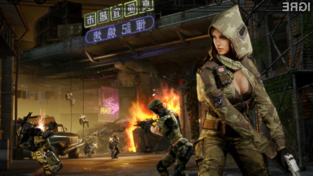 Igralcem je na voljo široka paleta likov, orožij in bojne opreme.