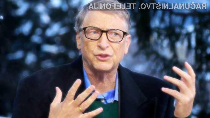 Bill Gates že leta 2015 opozarjal, da nismo pripravljeni na pandemijo - nihče ga ni poslušal