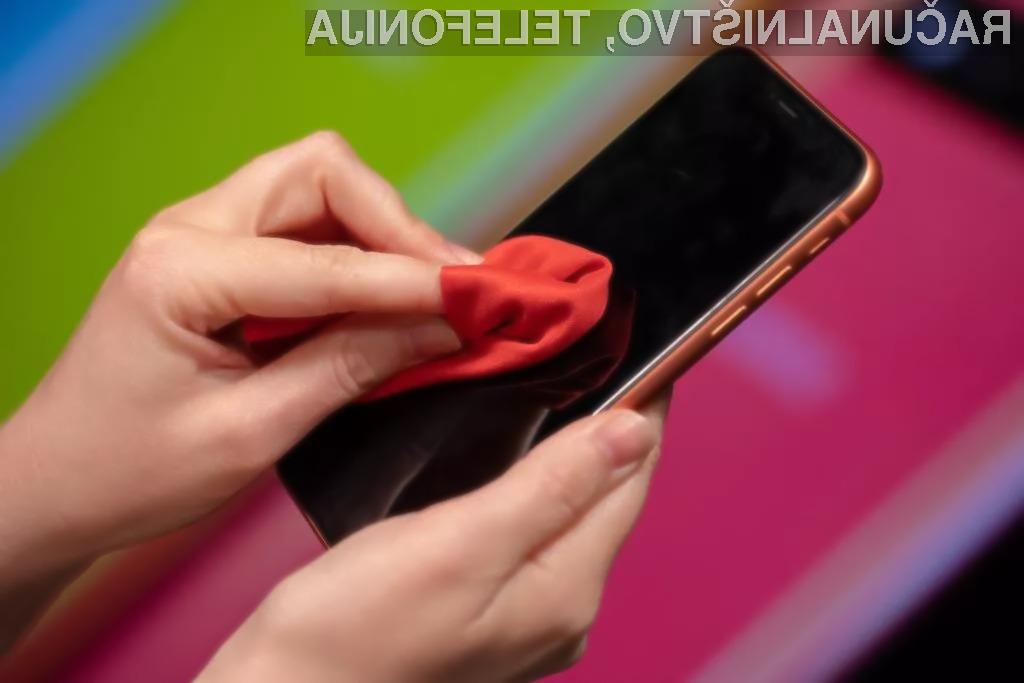 Kako najboljše očistimo svoj telefon?