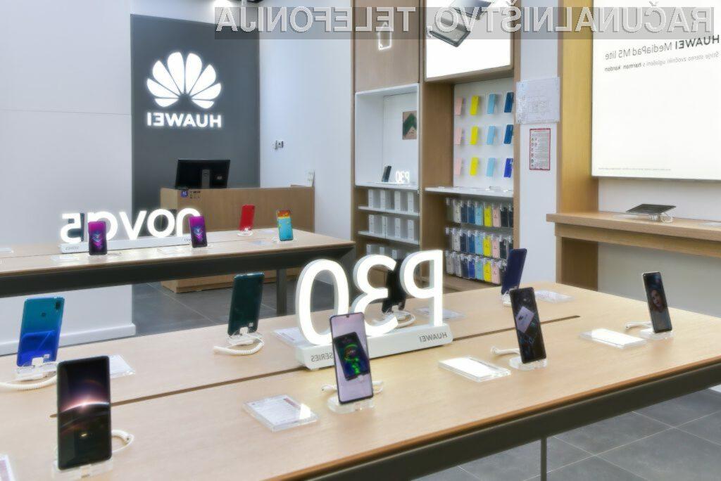 Huawei s prvo trgovino tudi v Sloveniji