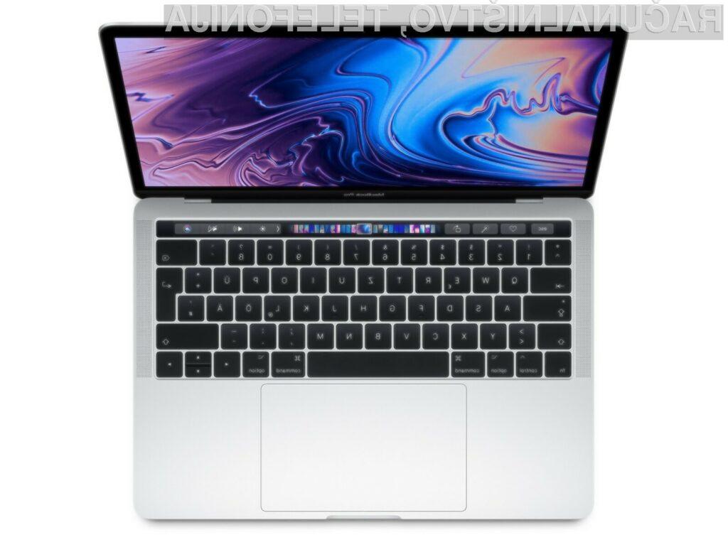 Novi Apple MacBook Pro naj bi bil opremljen z zaslonom mini-LED.