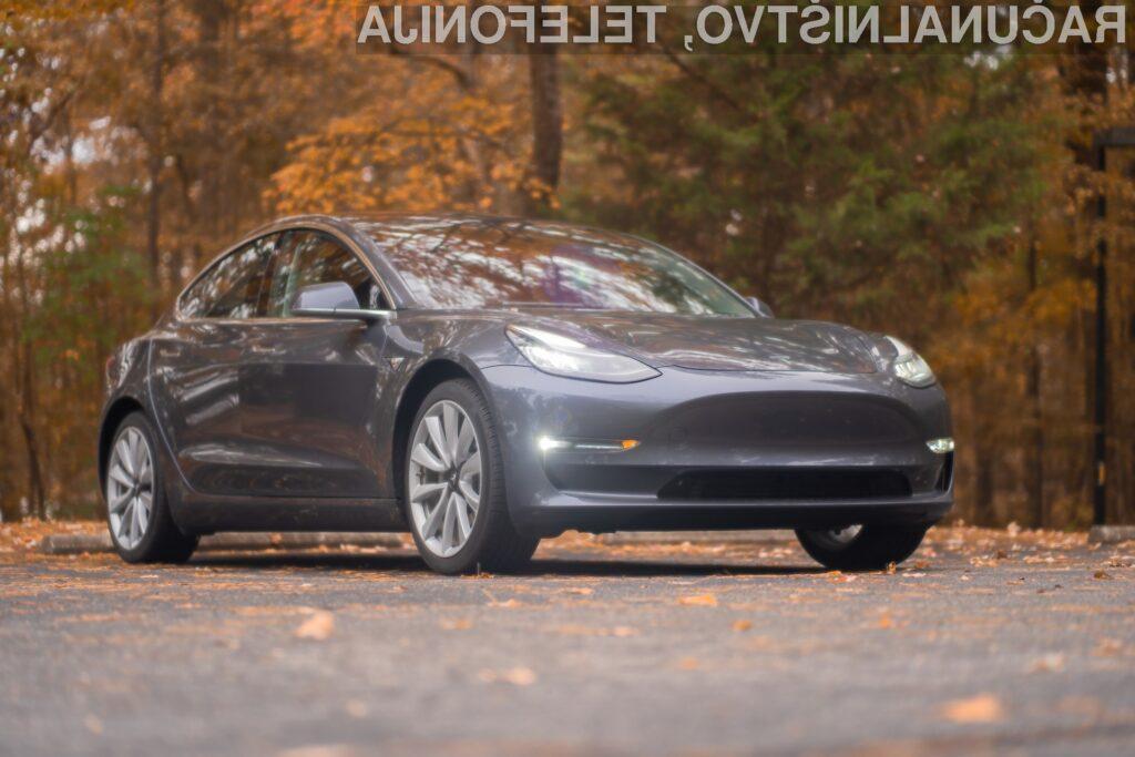 Tesla izdelala svoj milijonti električni avtomobil