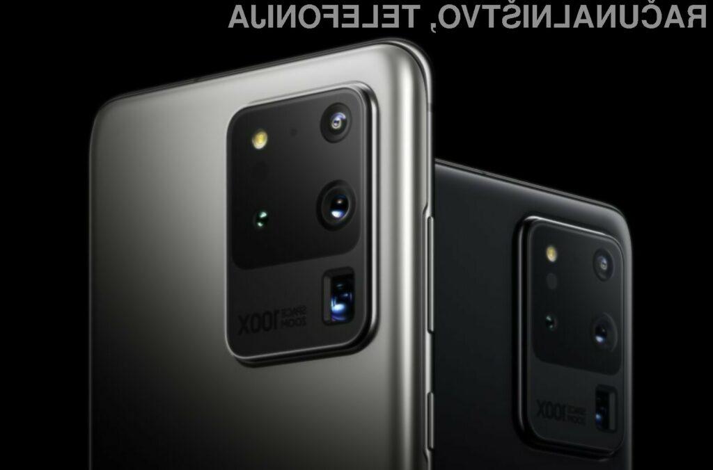 Samsung za izdelavo pametnega mobilnega telefona Galaxy S20 Ultra potrebuje le preračunanih 468 evrov.
