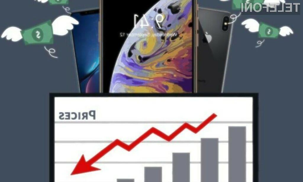 Izguba vrednosti za iPhone je precej manjša kot za telefone Android!