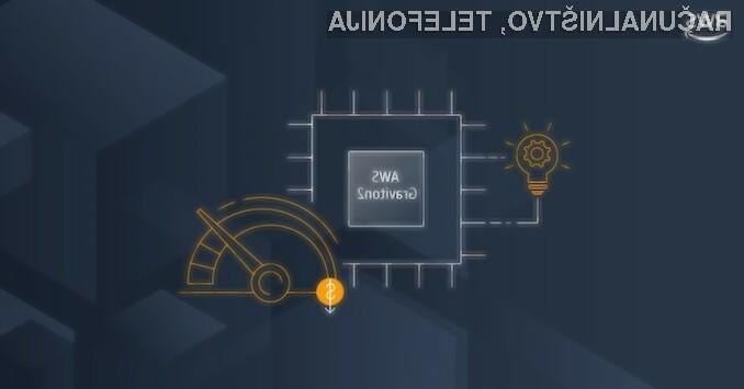Procesor Amazon Graviton2 je okoli 55 odstotkov boljši v primerjavi s procesorji Intel in AMD.