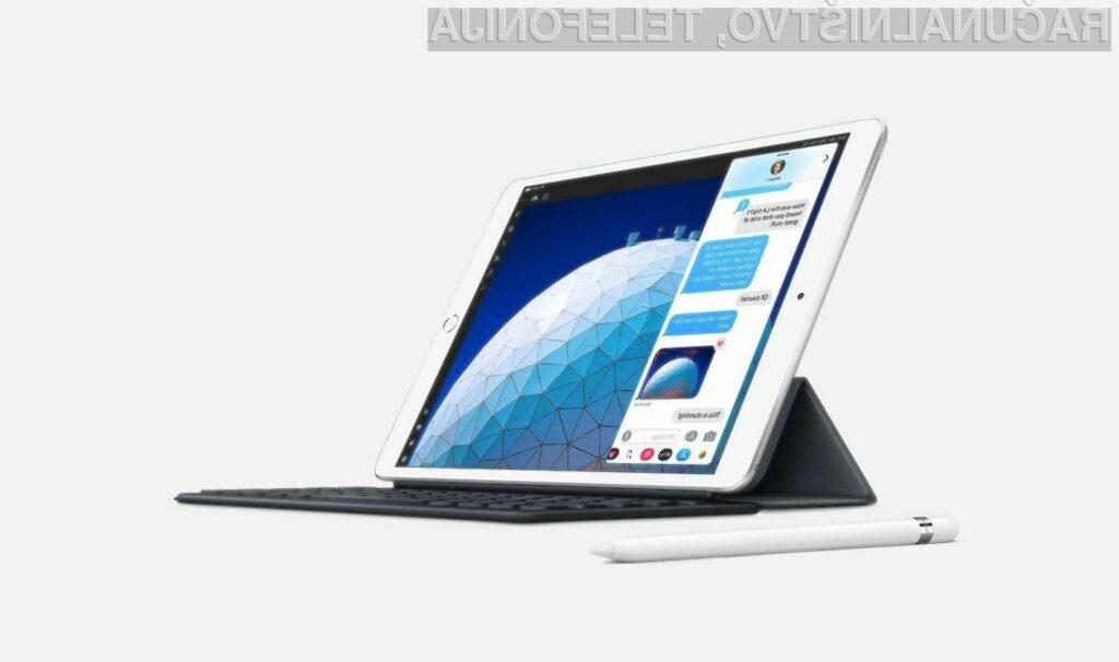 Težave z zasloni imajo tablični računalniki Apple iPad Air, ki so bili izdelani med marcem in oktobrom 2019.