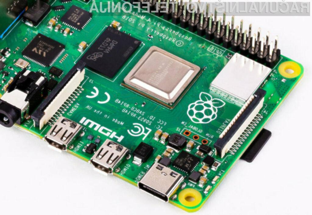 Novi Raspberry Pi 4 omogoča izdelavo še zmogljivejših sistemov!