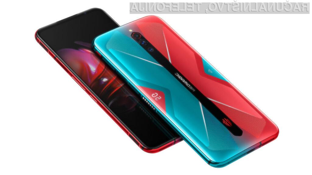 Pametni mobilni telefon Nubia Red Magic 5G bo zlahka opravil tudi z najzahtevnejšimi nalogami!