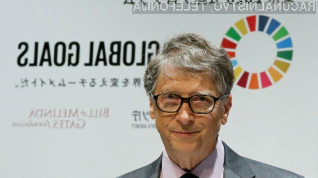 Bill Gates se bo odslej v polni meri posvetil dobrodelni organizaciji Bill & Melinda Gates.