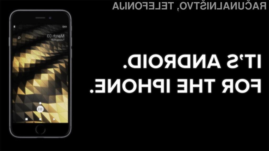 Android na pametnih mobilnih telefonih iPhone!