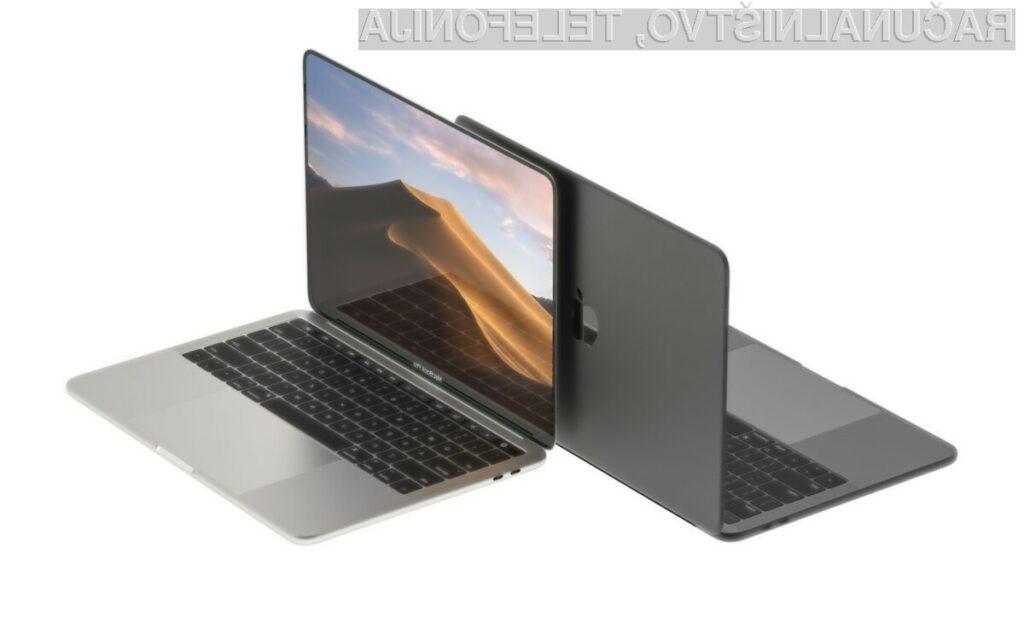 Novi Apple MacBook Pro naj bi bil znatno zmogljivejši.