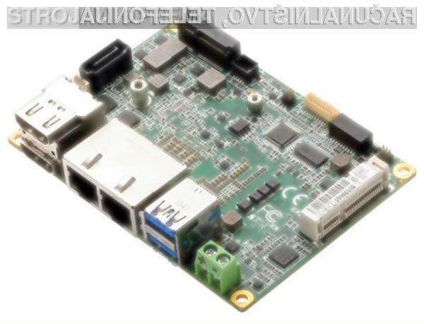 Aaeon PICO-WHU4 kljub kompaktnim dimenzijam ponuja izjemno računsko moč.