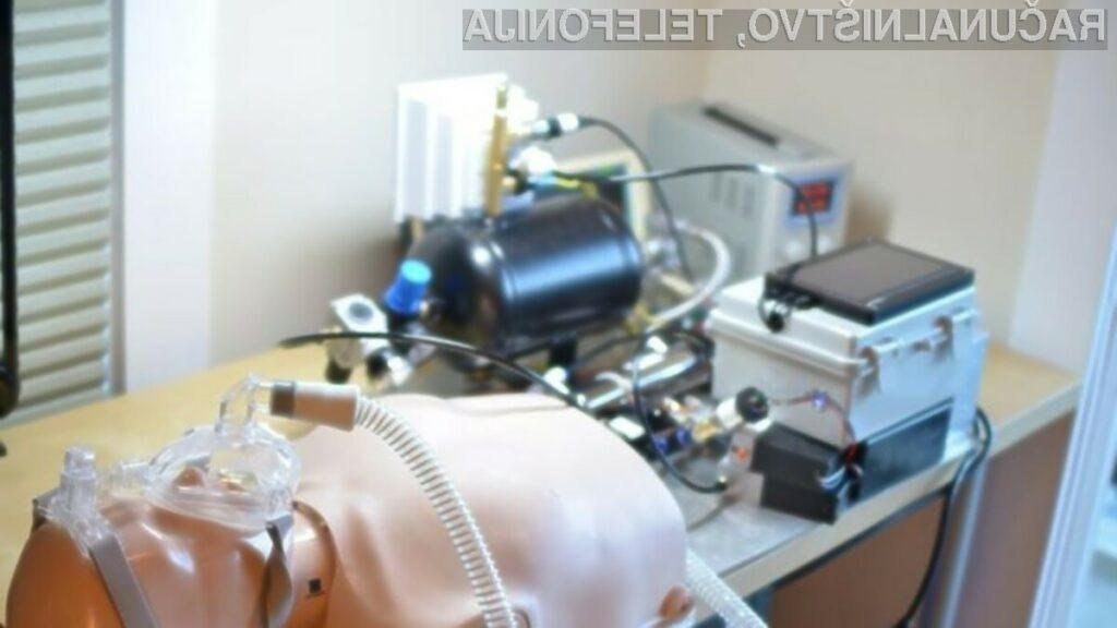 Kompakten a zmogljiv osebni računalniki Raspberry Pi lahko uporabimo celo za izdelavo domačega respiratorja.