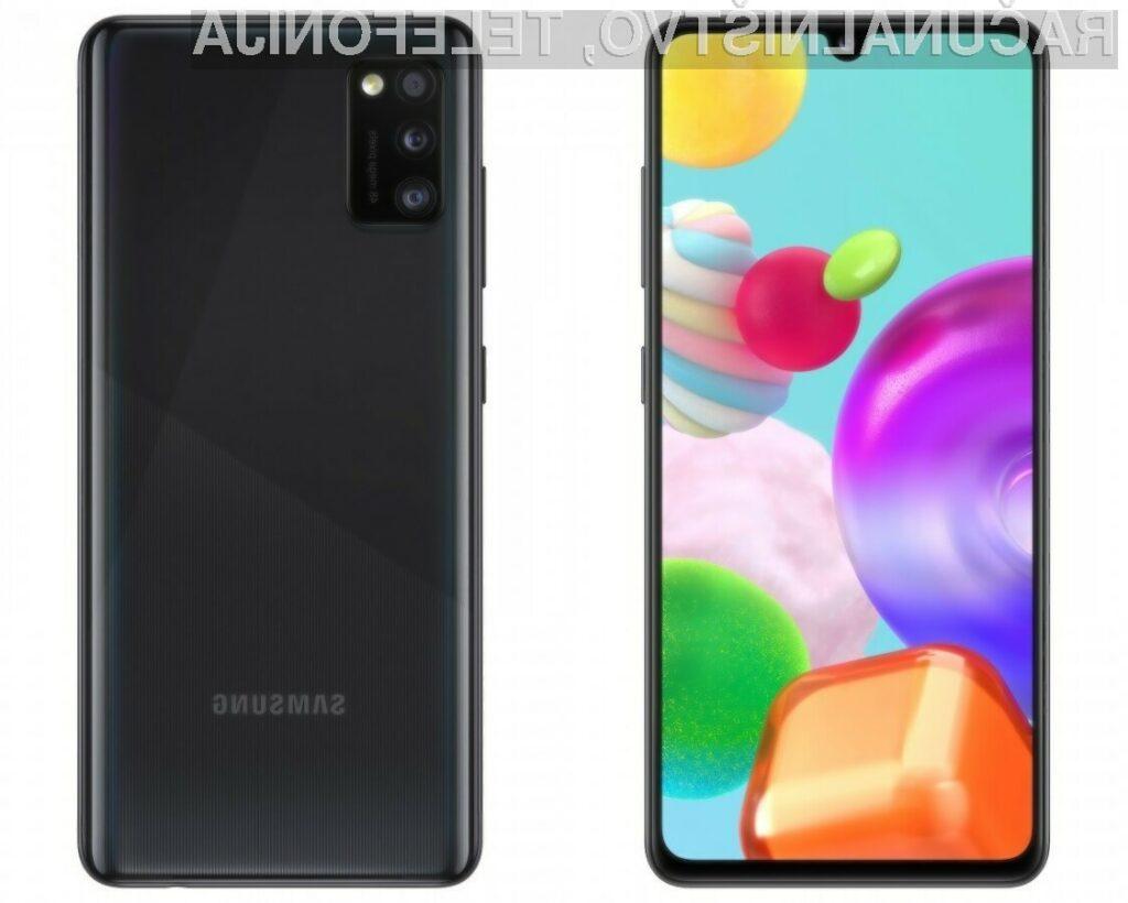 Samsung Galaxy A41 za malo denarja ponuja zelo veliko!