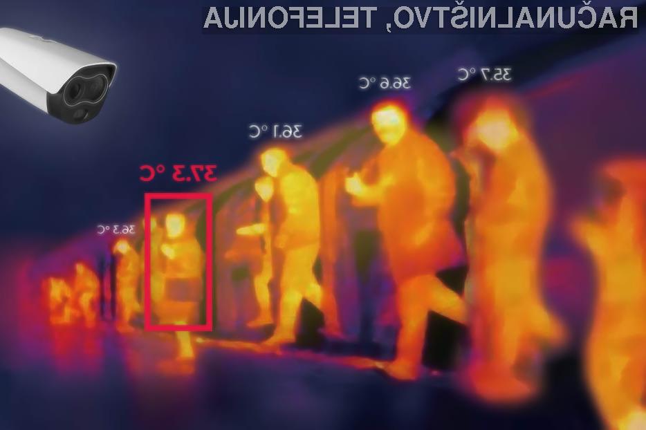 Špica International organizira WEBINAR, na katerem bodo prikazali delovanje termovizijske kamere.