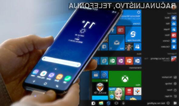 Pametni mobilni telefoni so dovolj zmogljivi za poganjanje operacijskih sistemov za osebne računalnike.