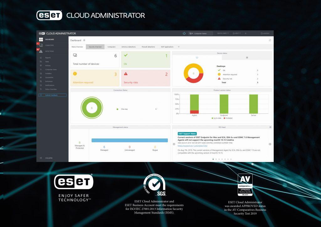 ESET poenostavlja upravljanje varnosti na oddaljenih računalnikih