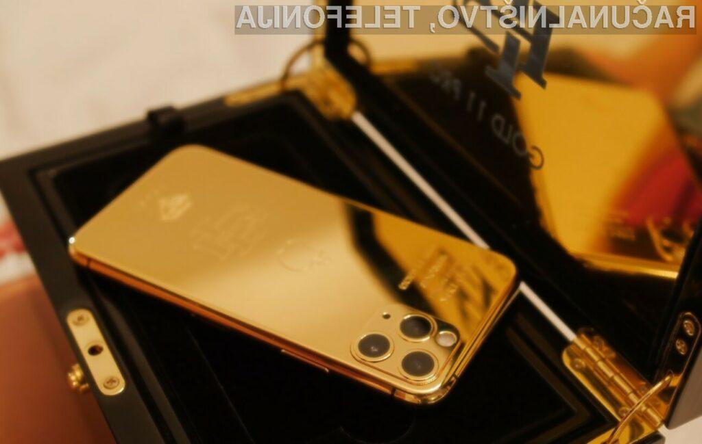 Brat bivšega vodja kolumbijske mafije ponudil v prodajo zlati iPhone!