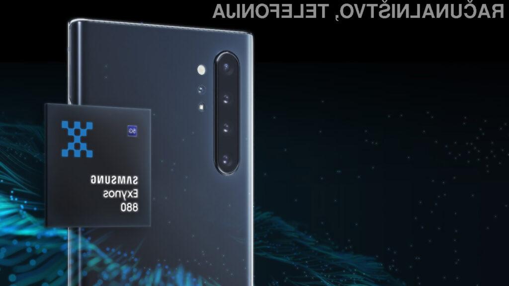 Novi Samsung Exynos 880 bo še dodatno pohitril mobilne naprave srednjega cenovnega razreda.