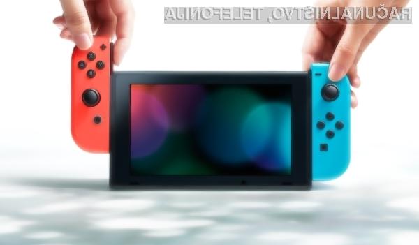 Prenosna igralna konzola Nintendo Switch in igre zanjo gredo v prodajo kot za stavo!