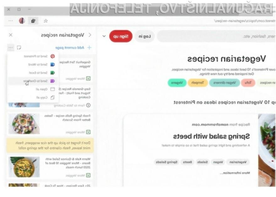 Novi spletni brskalnik Microsoft Edge bo še bolj uporaben in zanimiv.