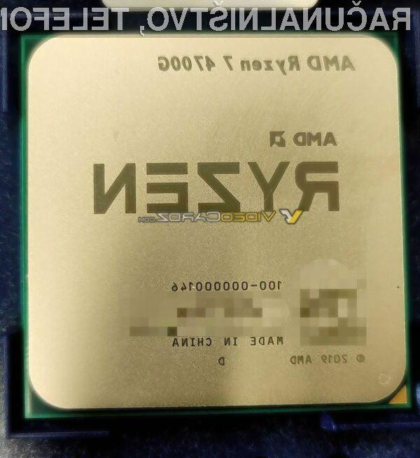 Vrhunski procesor AMD Ryzen 7 4700G naj bi bil naprodaj še pred poletjem!