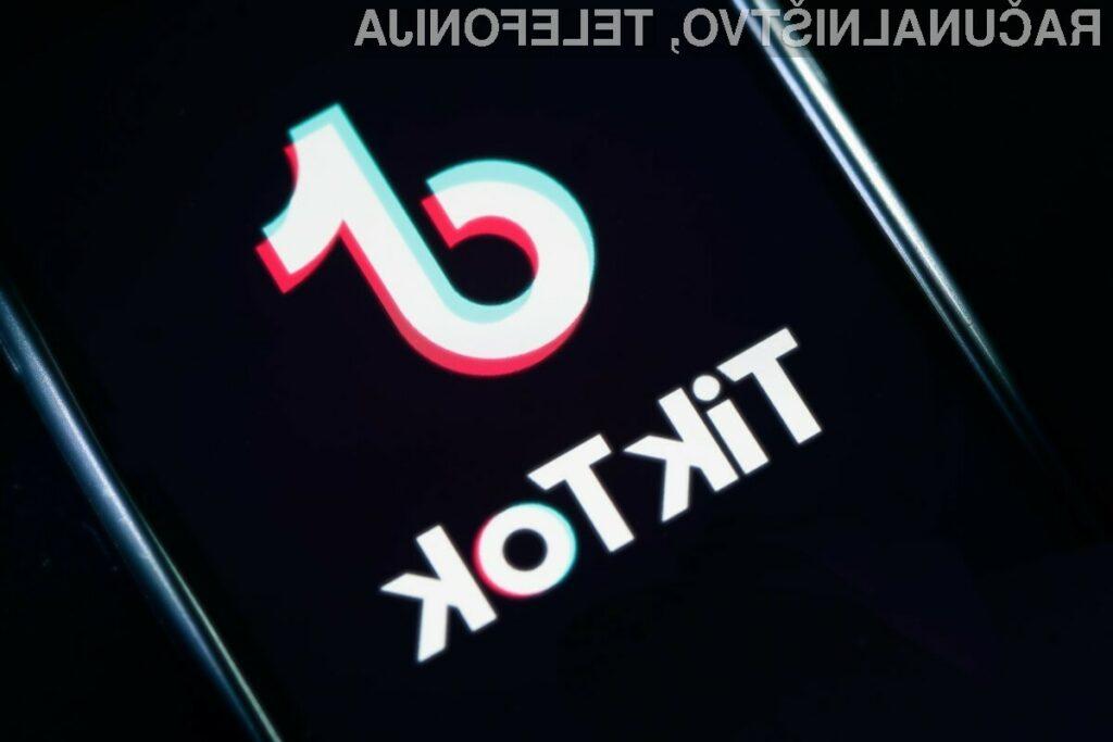 Največ prenosov družbenega omrežja TikTok je bilo zabeleženih v Indiji, druga je Kitajska, tretja pa ZDA.