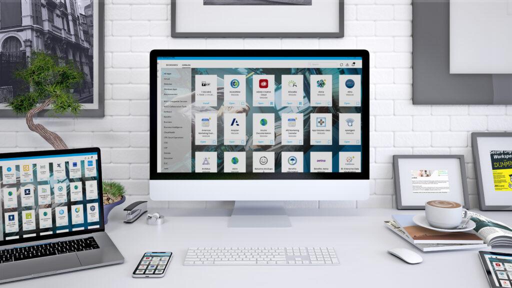 Zahvaljujoč VMware Workspace ONE je uvajanje za delo od doma na lastnem računalniku veliko lažje.