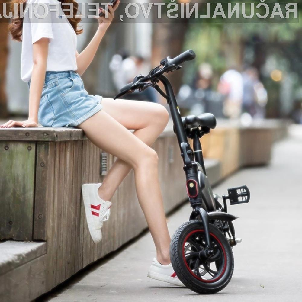 Odlično zložljivo električno kolo po odlični ceni