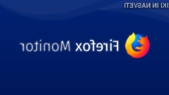 Mozilla z novo storitvijo Firefox Monitor