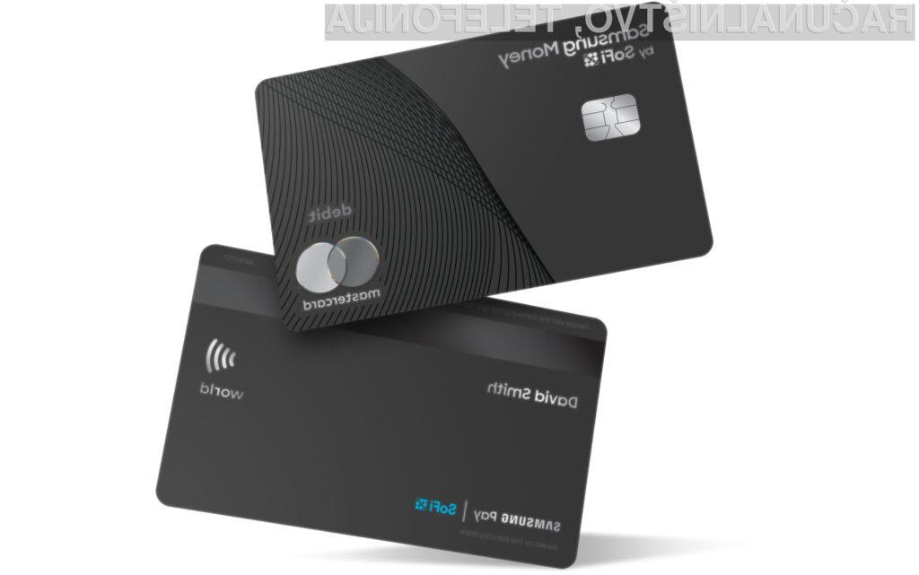 Tudi Samsung s svojo plačilno kartico