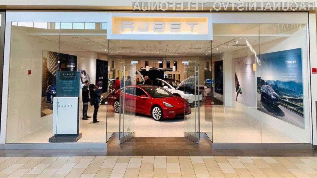 Ali Tesla odpira svoj prvi prodajni salon v Sloveniji?