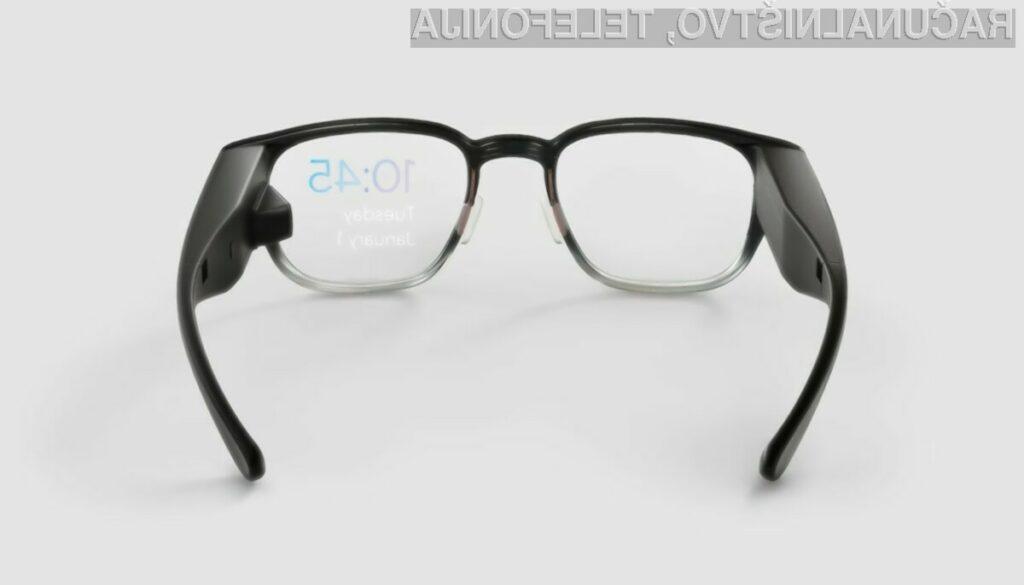 Nova pametna očala podjetja Google naj bi bila namenjena predvsem običajnim uporabnikom.