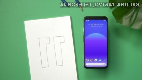 Poskusni Android 11 je na voljo za uporabnike mobilnih naprav Google družine Pixel.