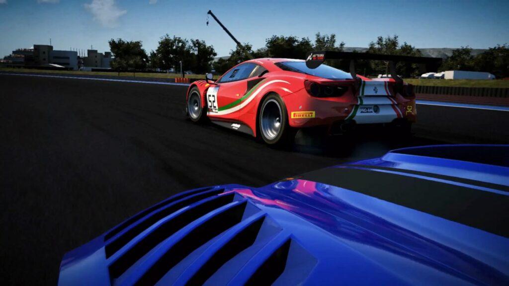 Igra velja za uradno simulacijo prvenstva Blancpain GT Series.