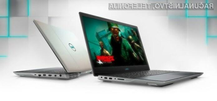 Napredno tehnologijo AMD SmartShift bo sprva podpiral le prenosni računalnik Dell G5 15 SE.