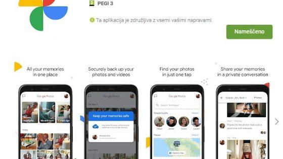 S storitvijo v oblaku Google Foto boste do fotografij lahko dostopali kjer koli in kadar koli.