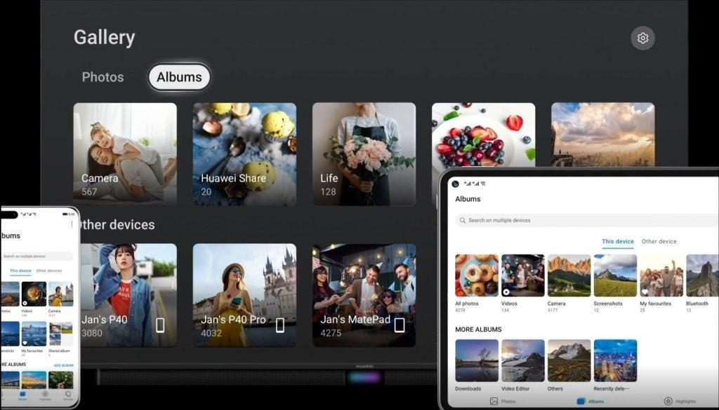 Kako deliti fotografije med napravami Huawei?