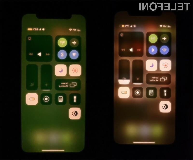 Težava z zaslonom naj bi bila povezana z napako v operacijskem sistemu iOS 13.5.