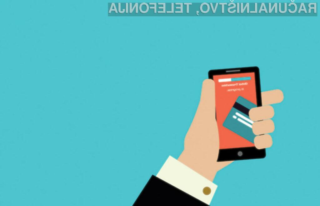 Mobilne denarnice rastejo na globalni ravni
