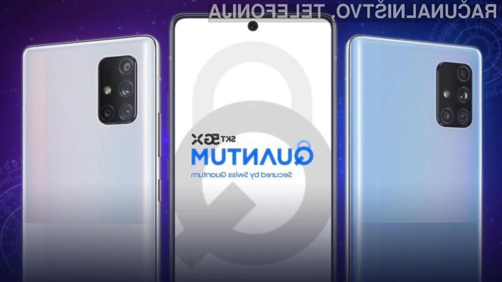Samsung je telefon Galaxy A Quantum opremil s kvantnim generatorjem naključnih števil.