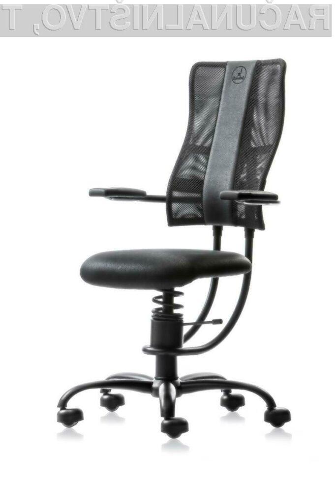 Pisarniški stol SpinaliS HACKER (črn)