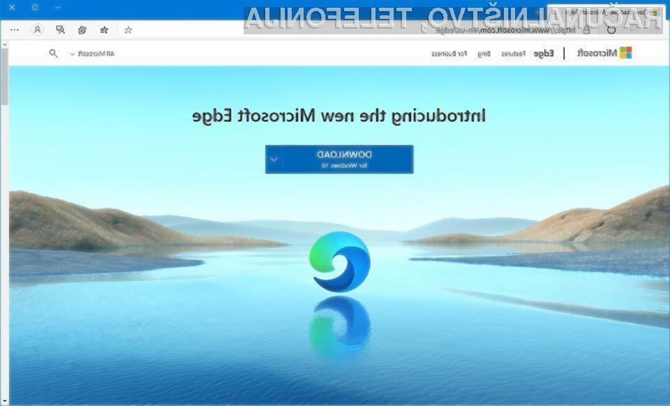 Novi Microsoft Edge že prekaša konkurenčni brskalnik Google Chrome.