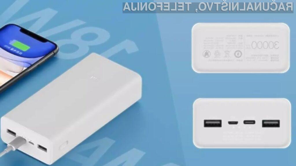 Xiaomi Mi Power Bank 3 je poceni a zmogljiva prenosna baterija!