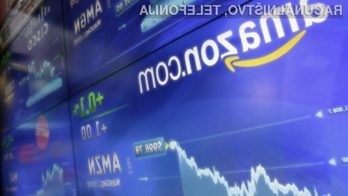 Amazonova delnica dosegla novo rekordno vrednost