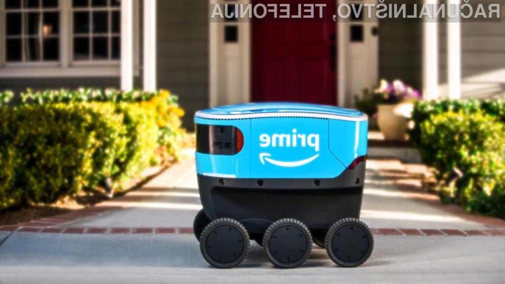Robot za dostavo paketov Amazon Scout je med končnimi uporabniki nadvse priljubljen!