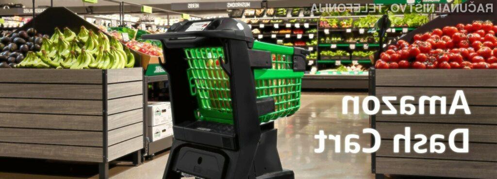 Poglejte si Amazonov nakupovalni voziček prihodnosti